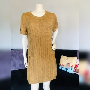 NWT! I ♥️ Ronson Cute Little Casual Camel Dress